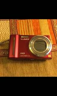LUMIX point and shoot camera