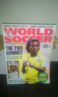 FOOTBALL Magazine - World Soccer August 2003