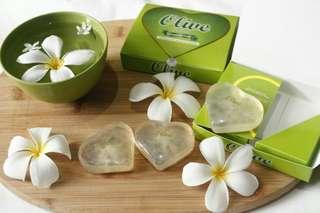 Olive (zaitun) transparant soap