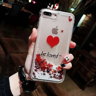 PO: 📱Be Loved Cascading Snowflakes Phone Case