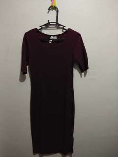 Long Fitted H&M Dress
