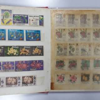 Stamp Album Collection