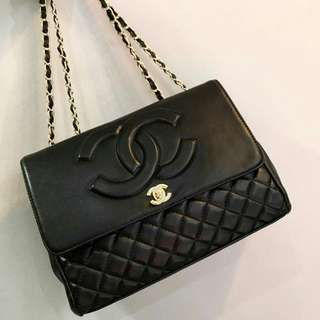 CHANEL Timeless Lambskin Black Color