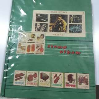 Singapore Stamps Album Collection