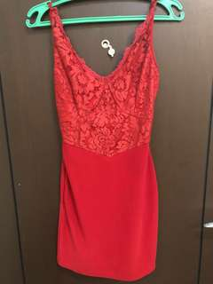 I'm selling my red dress pre loved