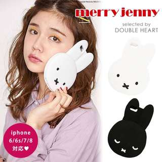 Miffy x merry jenny iPhone Case iPhone 6/6s/7/8 對應 Soft Case