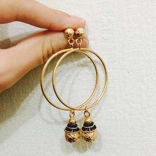 BNWOT Kookai Christmas Earrings