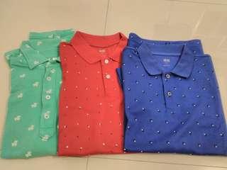 Original Uniqlo Polo Shirts