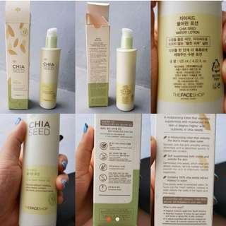 [NEW] THE FACE SHOP LOTION CREAM WAJAH CHIA SEED WATER 100