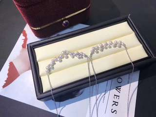 Sold 純銀 珍珠項鍊 sliver pearl necklace