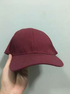Maroon Cap