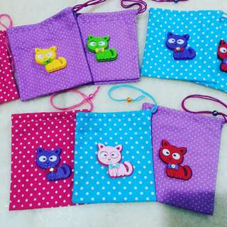 Handmade cute mini bags