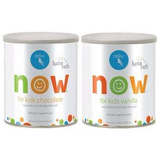 Reliv NOW for kids ( free delivery )