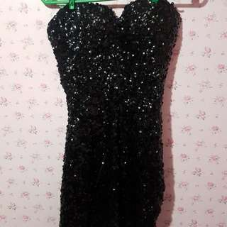 Sexy Party Black Dress