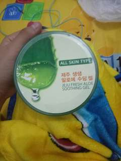 Original soothing gel aloe vera