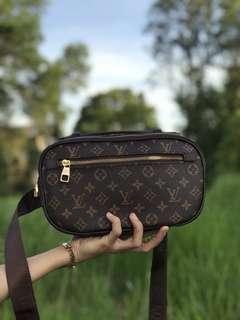 LV Clutch Bag Brown