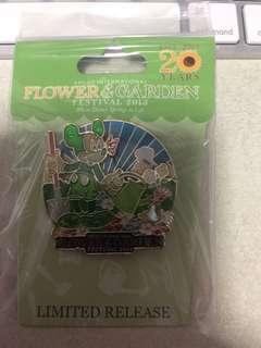 Brand new Disney world flower and garden festival 2013 pin