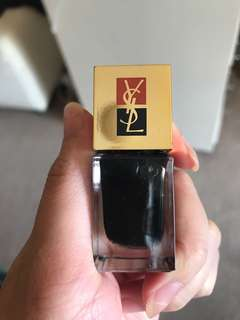 Ysl black nail polish 6mL