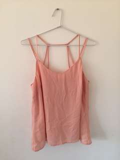 Strappy Peach Top