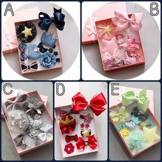 韓式可愛髮飾禮盒$50/2盒