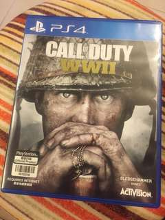 PS4 - Call of duty WWII