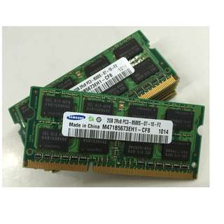 (全新) 三星SAMSUNG  DDR3 1066 ddr3 2G Laptop記憶體