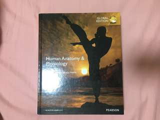PEARSON- Human Anatomy & Physiology Global ed.