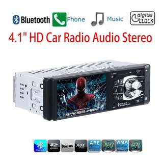 """280. Masione Car Stereo with Bluetooth FM and Radio in Dash - 4.1"""""""