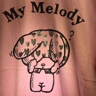 2018💯%Melody T 恤 (包郵)