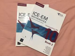 Cambridge ICE-EM Year 10 Mathematics Book 1 & 2