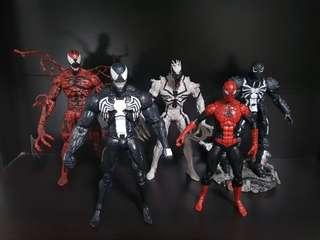 Marvel Select Venom | Carnage | Anti-venom | Agent Venom | Superior Spider-man