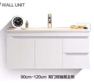 Vanity cabinet for toilet (w/o basin & top mirror vanity)