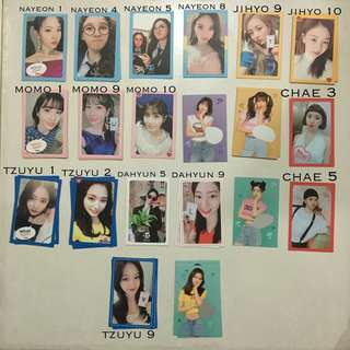 WTS Twice What Is Love? Photocards