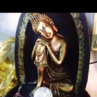 {FS138} Feng Shui Buddha Water Fountain