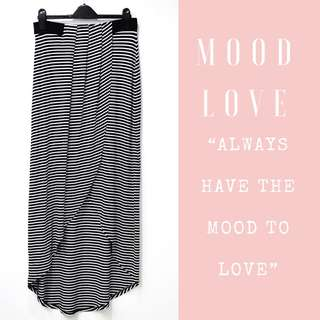 Ever New Melbourne Stripped Skirt