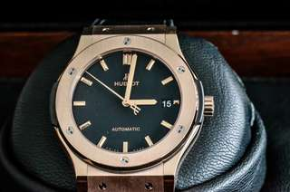 brand new Hublot classic fusion 45mm HU431 ref. 511.OX.1181.LR