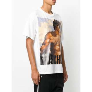 Moschino greek god t-shirt shirt