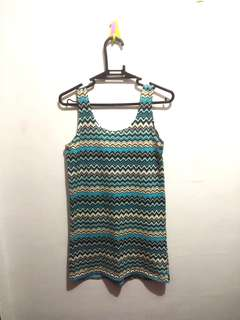 Aztec Print Fitted Top (2 for 150)