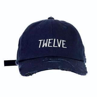 Twelve Jewels Cap Navy