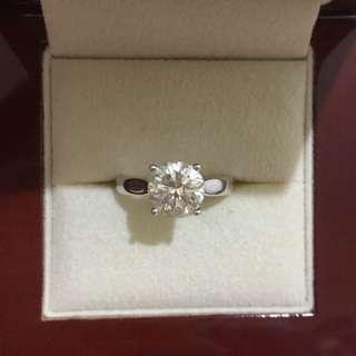 2.03卡鑽石戒指