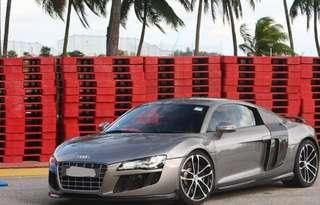 Audi R8 4.2A V8 Engine