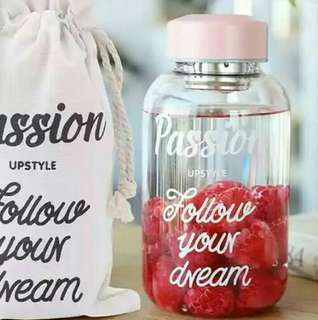 Passion Glass Bottle