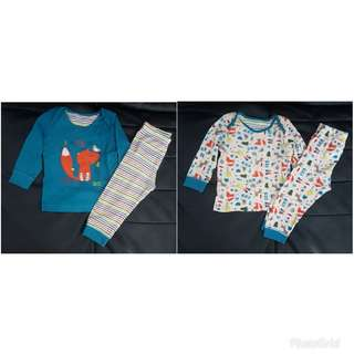 2in1 piyama racoon mothercare