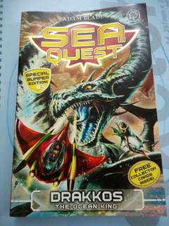 Sea Quest: DRAKKOS THE OCEAN KING.