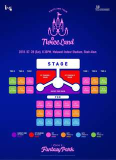 Ticketing Service Twice Concert