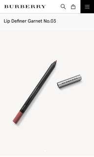 Burberry Lip Definer Pencil Shade No. 03 Garnet