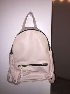 Nude / beige backpack