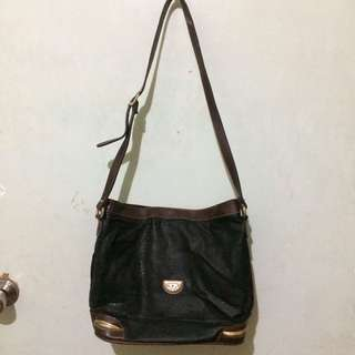 Authentic Leslie Fay Sling Bag