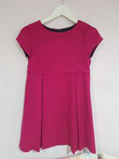 Dress Zara Kids Pink Tua