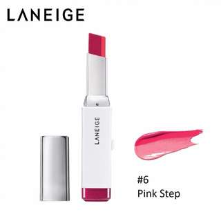 Laneige Two Tone Lip Bar Duo no.6 pink step